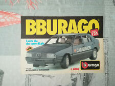 """Nº 102/bb Rare Advertising Original Advertising Models """"BBURAGO"""" years 70/80/90"""