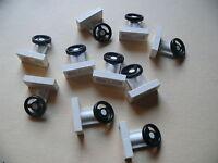 Lego 10 volants blancs / 10 white steering wheel