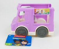 Fisher Price Little People Share A Treat Ice Cream Truck Ages 1 to 5 New w/ Tag