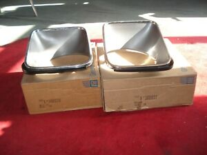 NOS 75-76-77-78 Chevy Nova SS Pair  Headlight bezels 360627 360628