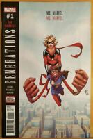 Generations MS Marvel #1 Marvel Comic 1st Print 2017 NM
