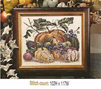 Harvest Halloween Black Hat Cross Stitch Pattern Holidays Magic Studio