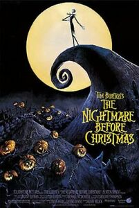 NIGHTMARE BEFORE CHRISTMAS - CLASSIC MOVIE POSTER 24x36 - 4306