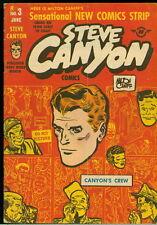 Harvey Golden Age Comic, Milton Caniff's Steve Canyon #3, 1948