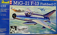 Mig-21 F-13 Fishbed C - Revell Kit 1:72 - 03967 Nuovo