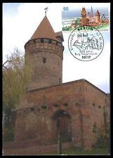 Federal Mk 2009 castillo tangermünde private!!! maximum mapa maximum card mc cm ce68