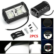 2PCS LED Work Light Bar Spot Flood Beam OffRoad Fog Driving Reverse 5 INCH Black
