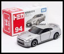 TOMICA #94 NISSAN SKYLINE GT-R R35 1/61 TOMY GTR 35 DIECAST CAR SILVER