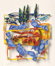 """David Gerstein """"Song Of Nature"""" 3 Layer Paper Cut"""