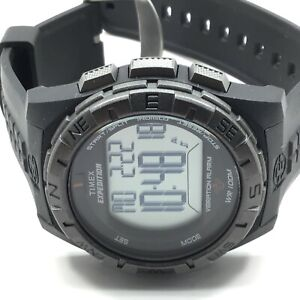 Timex Men's Expedition Vibrating Alarm Black Resin Strap Watch T49851