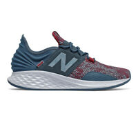 New Balance Mens Fresh Foam Roav Trail Running Shoes Trainers Sneakers Blue Grey