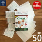 50 pcs Cleansing Detox Foot Pads Patches Pain Relief Toxins Herbal Organic