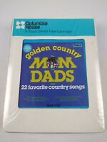 Columbia House 8 Track Stereo Tape Cartridge Golden Country The Mom And Dads NEW