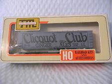HO scale Train Miniature Cliquot Ginger Ale NYDX 1506   Vintage Kit billboard