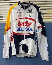 Vermarc Lotto Belisol Team Graphics LS Long Sleeve Men's Cycling Jersey Size S