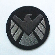 3.5 inches avengers movie SHIELD logo embroidered iron on / sew on patch
