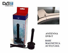 Antenna magnetica  DVB-T TV decoder,auto,digitale.25 dB guadagno.Altezza 18 cm.