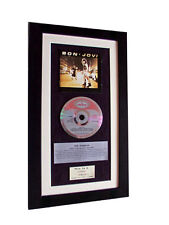 BON JOVI 1st CLASSIC CD Album GALLERY QUALITY FRAMED+EXPRESS GLOBAL SHIPPING