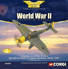 Corgi Aviation AA32505 Junkers Ju 87b Stuka 6./stg 77 Graz Austria 1941 Le 0009