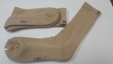 Adidas Tour Performance Crew Socks / Tan color (4 Pair Package) ClimaCool fabric