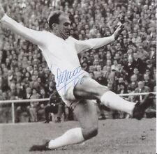 Alfredo Di Stefano Hand Signed 7x7 Photo - Football Autograph - Real Madrid.
