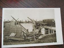 VINTAGE POSTCARD,12 JUIN 1926  CYCLONE  DE LA CHAUX-DE-FONDS FERME GEISER DETRUI