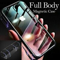 Cover For Samsung Galaxy S10 & S10+ Double Sided Glass 360° MAGNETIC Case