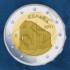 Spanien - UNESCO Weltkulturerbe – Oviedo und Asturien - 2 Euro 2017 Unc