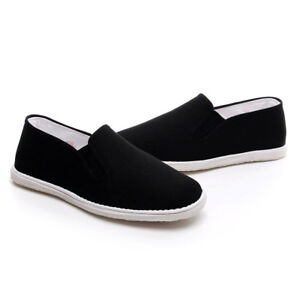 Hand made Beijing casual Cloth shoes Pumps Slip On Loafers Moccasins Fleece Gift