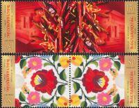 Hungary 2012 Stamp Day/Kalocsa/Paprika/Plants/Embroidery 2v set t-b prs (n45751)