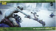 Star Wars Clone Wars Widevision Silver Stamped Parallel Base Card [500] #52