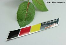 D703 German flag S line auto aufkleber Emblem Badge car Sticker Deutsch Flagge