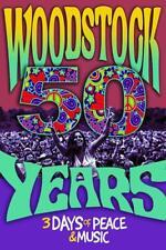 WOODSTOCK 50 YEARS POSTER - 24x36 Concert Music Tie Dye Art Fair