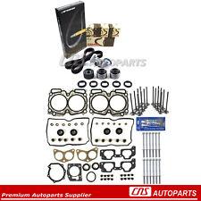 Fits 99-03 Subaru 2.5 SOHC EJ25 MLS Full Gasket Bolts Valve KIT Timing Belt Kit