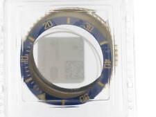Yellow gold 18kt Bezel + Blue insert + clutch Rolex Submariner 116618 - 116613