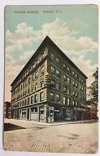 Coleman Building Newark N.J. New Jersey Divided Back Postcard (Made in Germany)