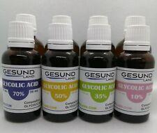 30ml/50ml  Glycolic Acid  70%/50%/35%/10% Gesundland chemical peeling peel