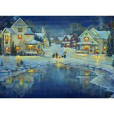 NEW! Eurographics Evening Light by Sam Timm 1000 piece christmas jigsaw
