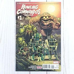 Howling Commandos of SHIELD #1, Marvel Comics 2015, Frank Barbiere, Schoonover