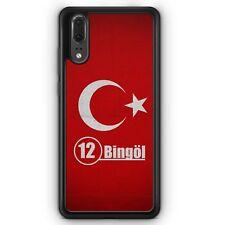 Huawei p20 Silicona Funda bingöl 12 motivo Design turquía Türkiye funda de móvil Schut