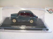 Renault 4 CV Berline Grand Luxe Type R 1060, 1950, darkgreen, Eligor 1:43, OVP