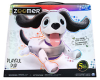 New Zoomer Playful Pup Realistic Interactive Robotic Dog with Voice Recognition