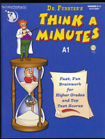 DR Funsters Think A Minutes A1 Brainwork Grades 2-3 The Critical Thinking Co NEW