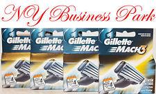 Gillette Mach 3 M3 Shaving Razor 8 Cartridges Blades