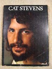 Cat Steven Song book - 24 songs - 1975 (Fc12-2)