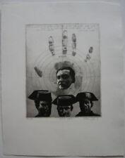 Kunstdrucke mit Radierungs-Böttger Klaus