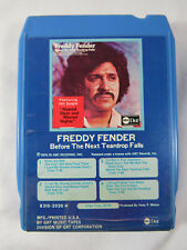 """Before The Next Teardrop Falls"" by Freddy Fender (8-Track Cartridge)"