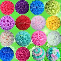 10 PCS HOT SELL Colorful High Quality. 15~40CM Rose Pomander Flower Kissing Ball