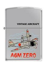 Zippo 250 A6M Japanese Zero WW2 Airplane Lighter
