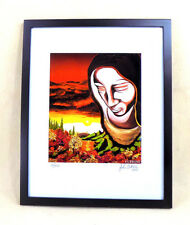 John Cutrone Framed Limited Edition Signed Print COLLECTIBLE ART GIFT surreal